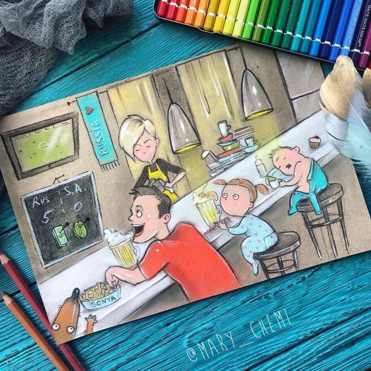 Gezeichnet vom Elterndasein Maria-Gorbunova-gezeichnetes-elterndasein_03