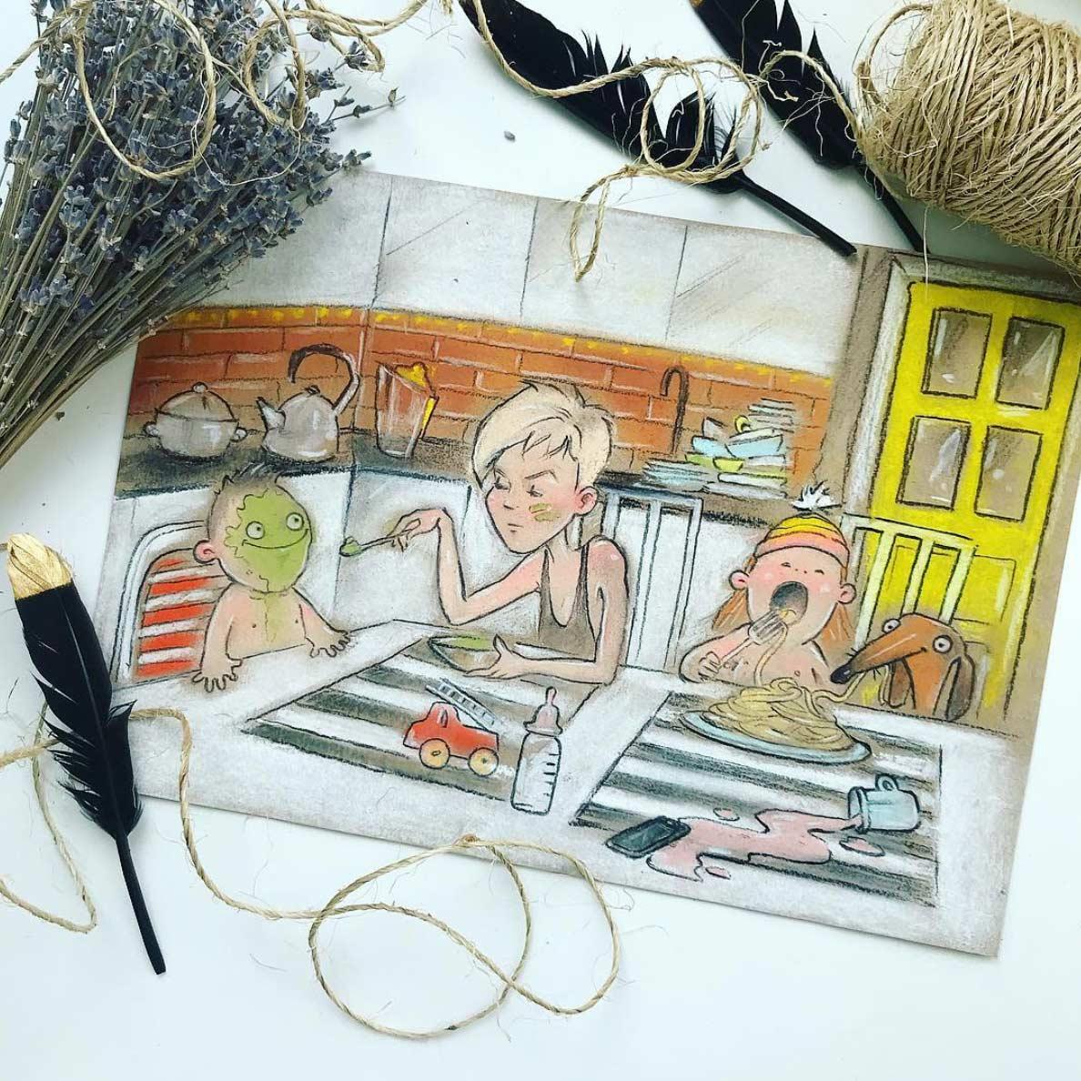 Gezeichnet vom Elterndasein Maria-Gorbunova-gezeichnetes-elterndasein_04