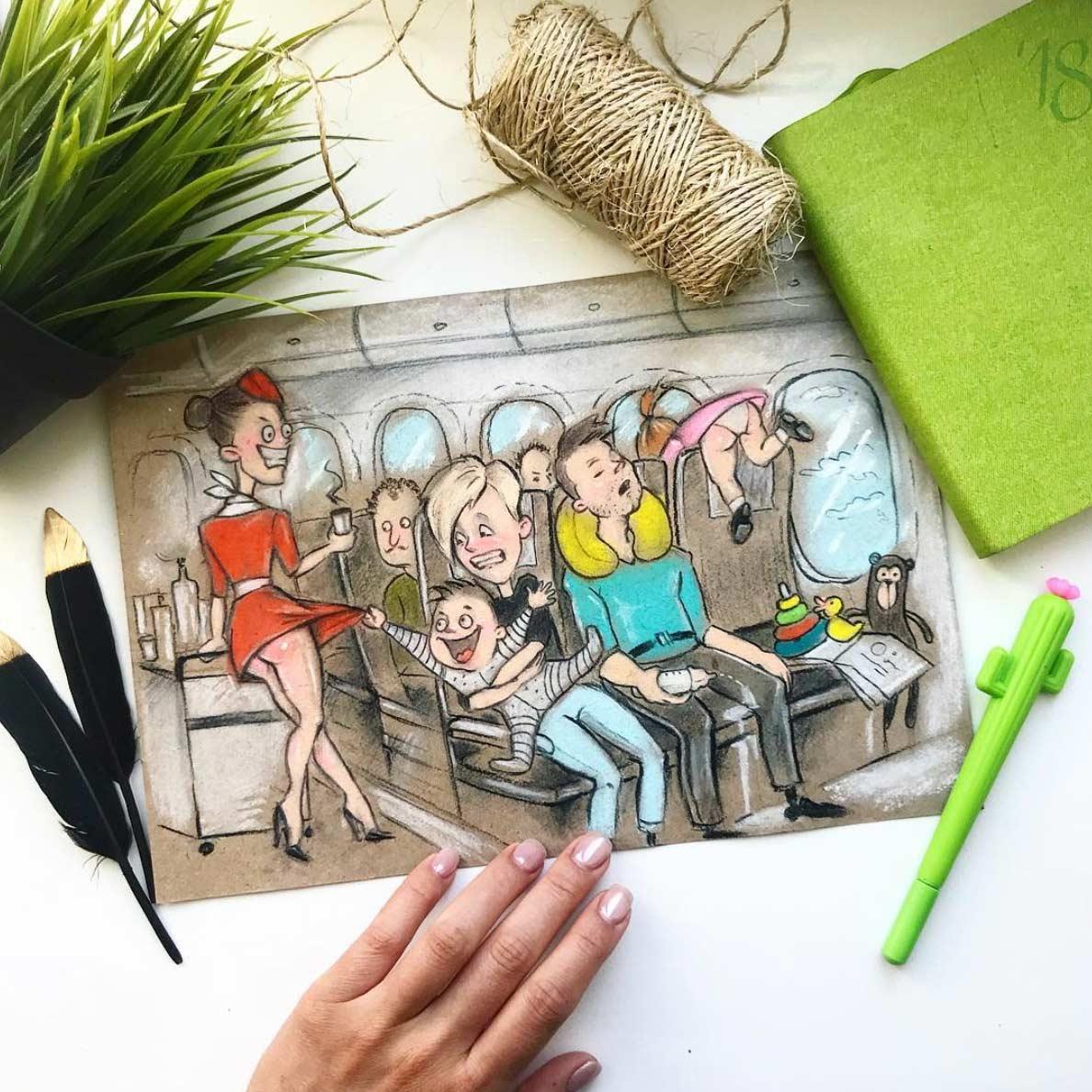 Gezeichnet vom Elterndasein Maria-Gorbunova-gezeichnetes-elterndasein_06