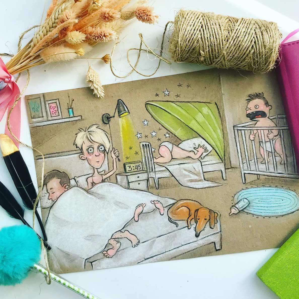 Gezeichnet vom Elterndasein Maria-Gorbunova-gezeichnetes-elterndasein_07