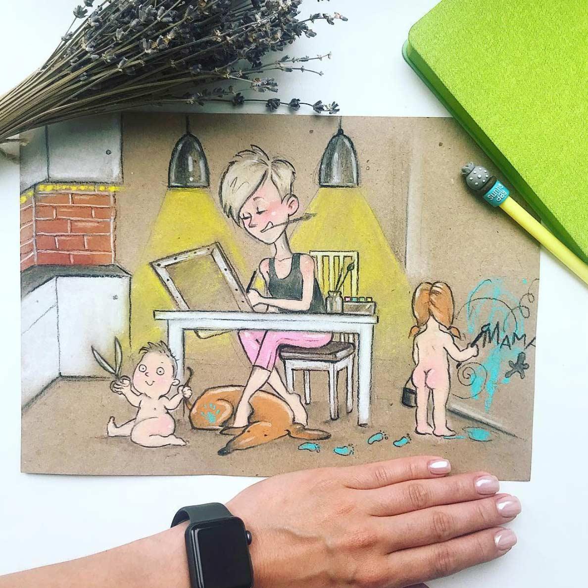 Gezeichnet vom Elterndasein Maria-Gorbunova-gezeichnetes-elterndasein_10