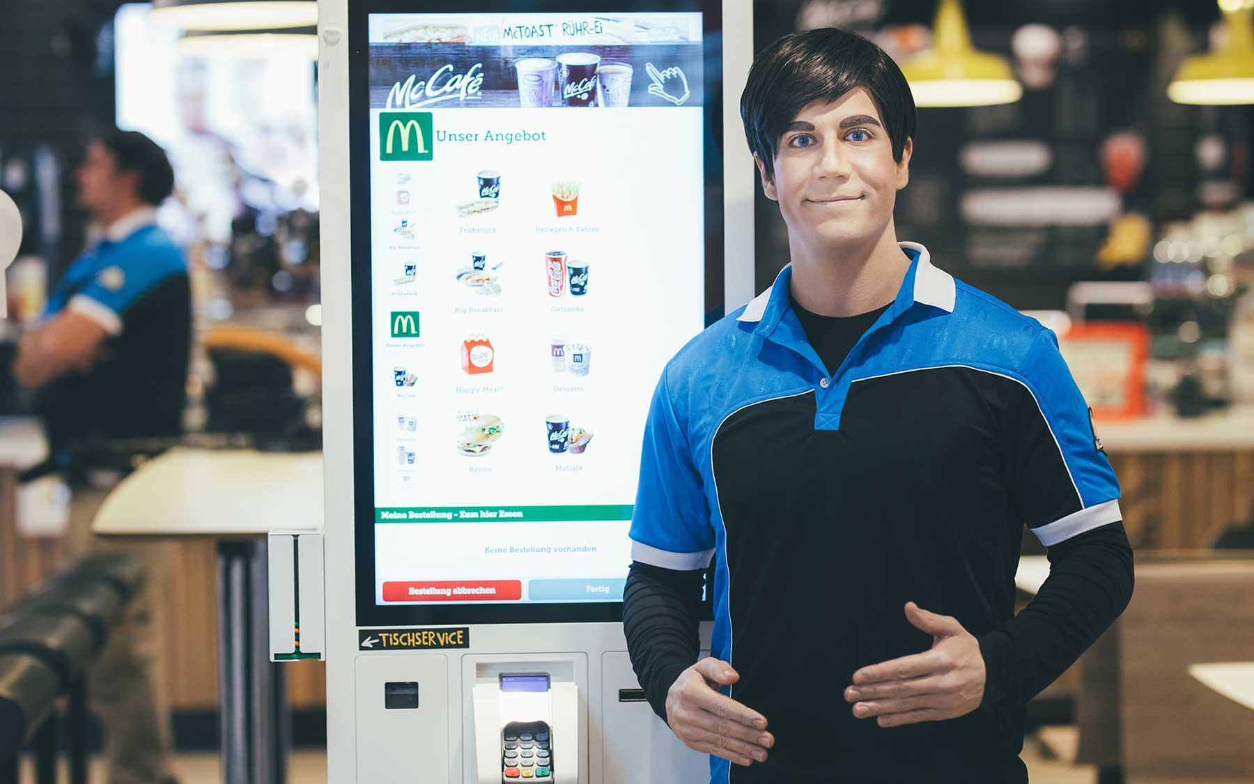 Experiment: Sind Roboter die Zukunft bei McDonald's?