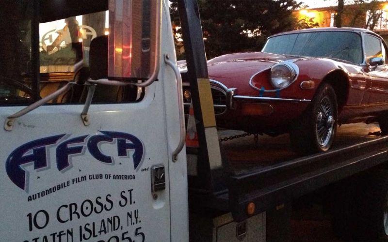 Der Auto Film Club besorgt Fahrzeuge für Film und Fernsehen