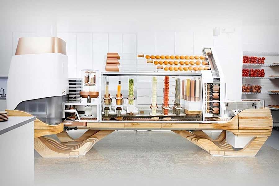 Diese Maschine macht dir deinen Wunschburger burgerroboter