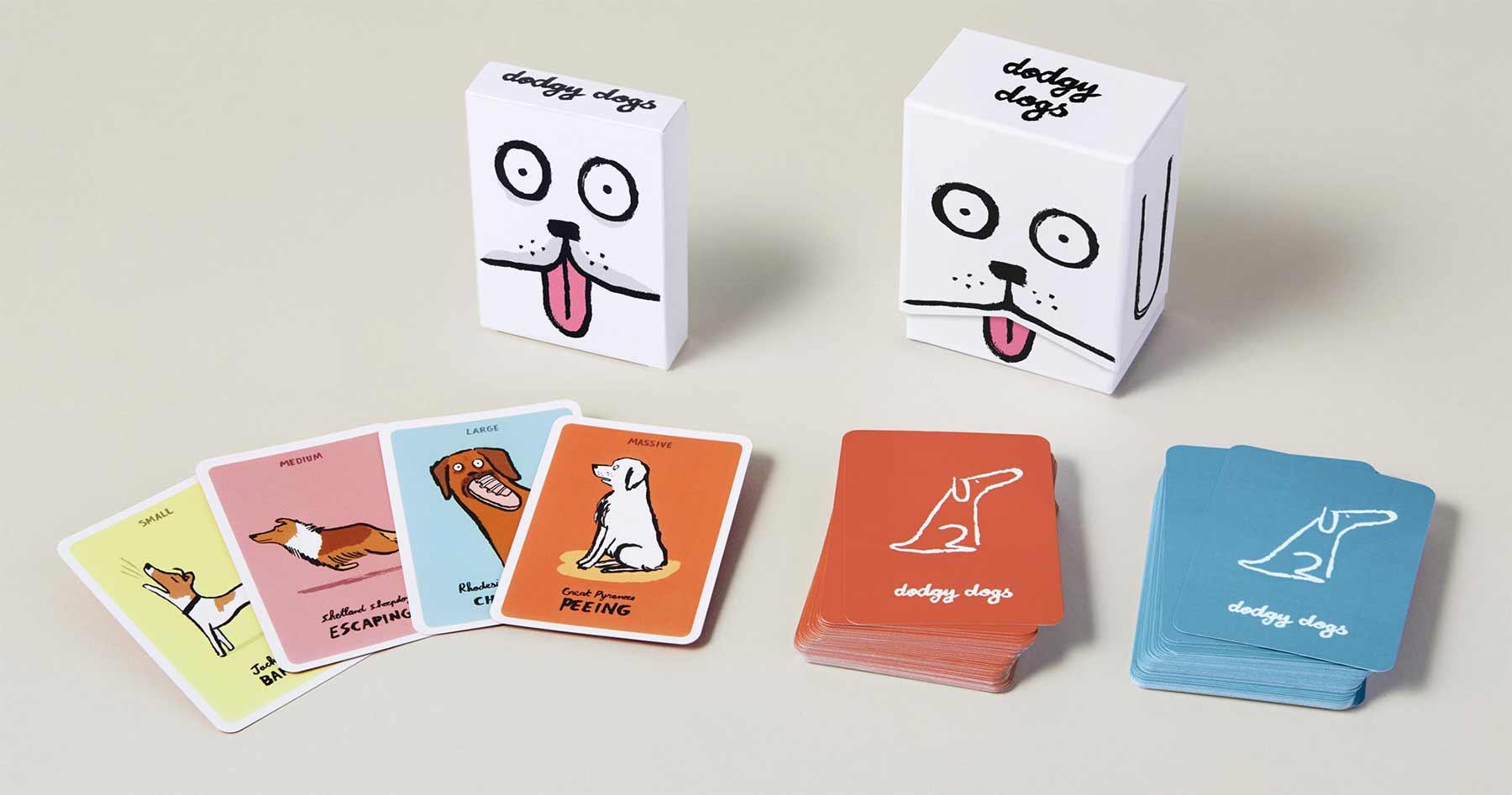 Kartenspiel: Dodgy Dogs dodgy-dogs-kartenspiel