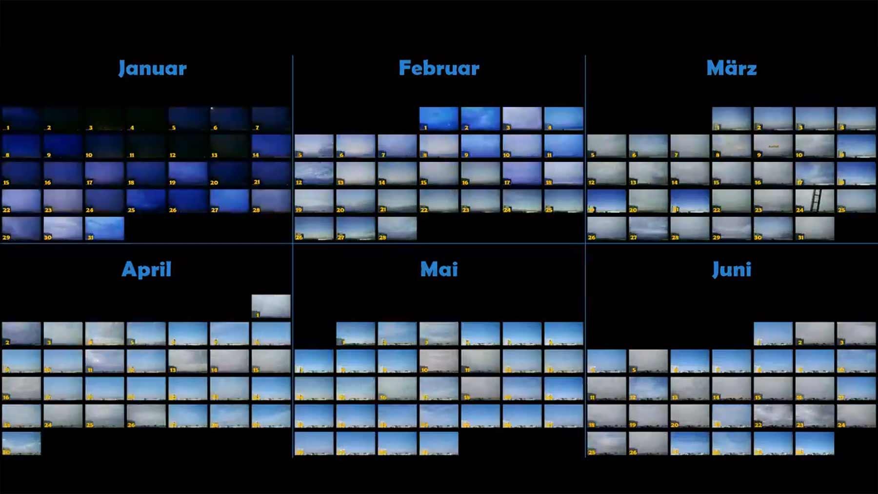 Ein halbes Jahr Berliner Himmel im Zeitraffer himmel-timelapse-berlin