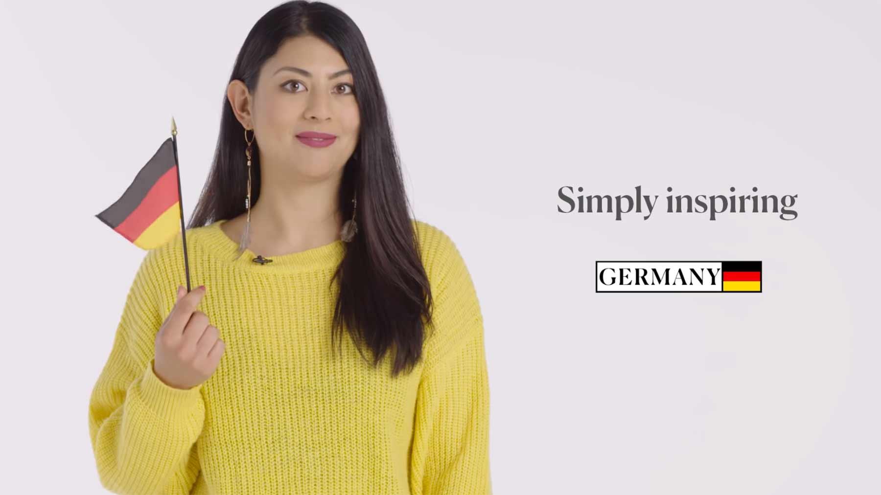 Leute aus 70 Ländern rezitieren den Tourismus-Slogan ihrer Heimat internationale-tourismus-slogans