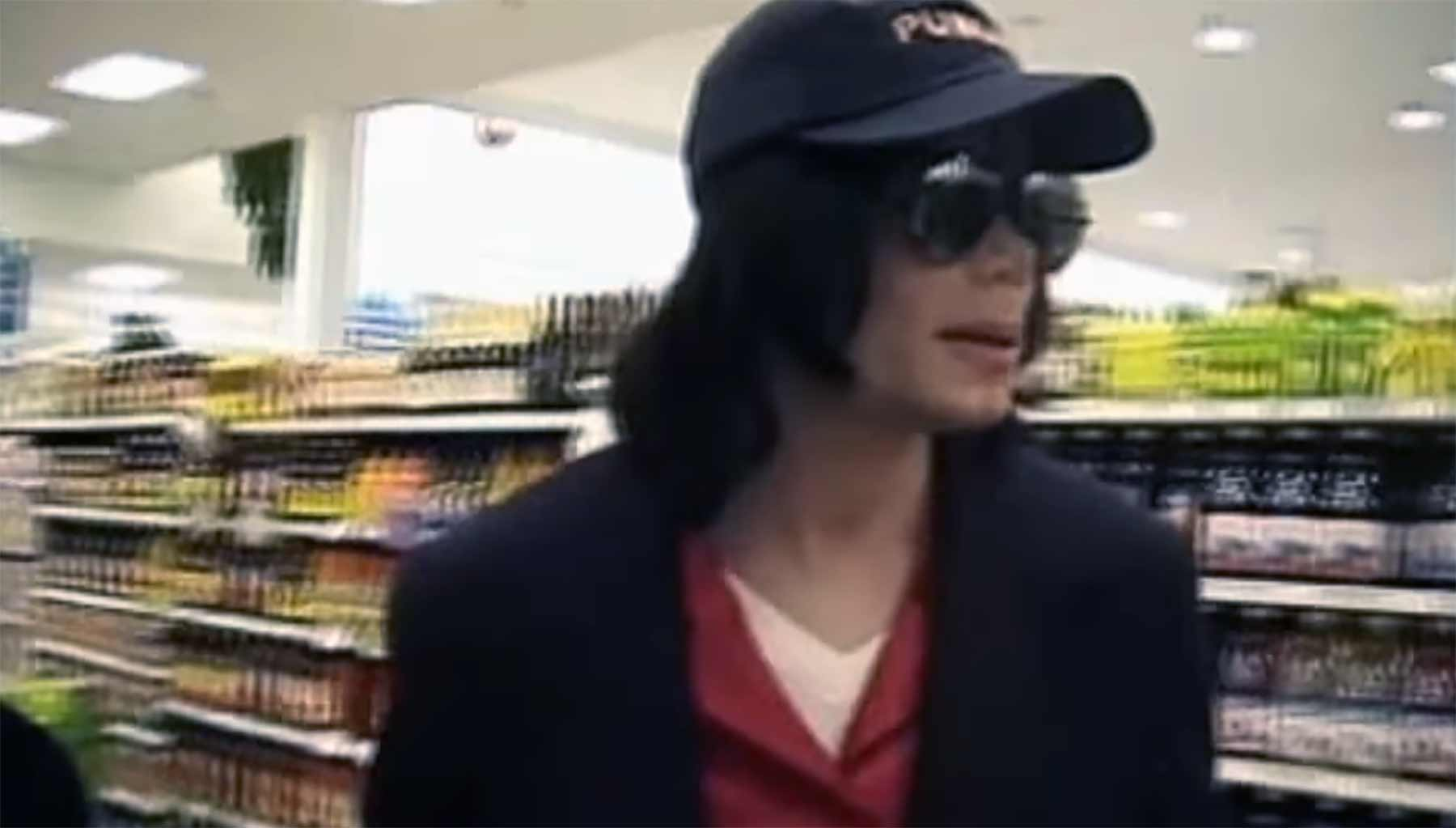 Einkaufszentrum schloss, damit Michael Jackson in Ruhe einkaufen kann