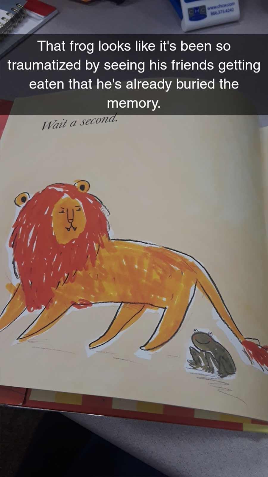 Erwachsene rezensiert Kinderbuch auf erfrischende Art A-Hungry-Lion-or-A-Dwindling-Assortment-of-Animals_06