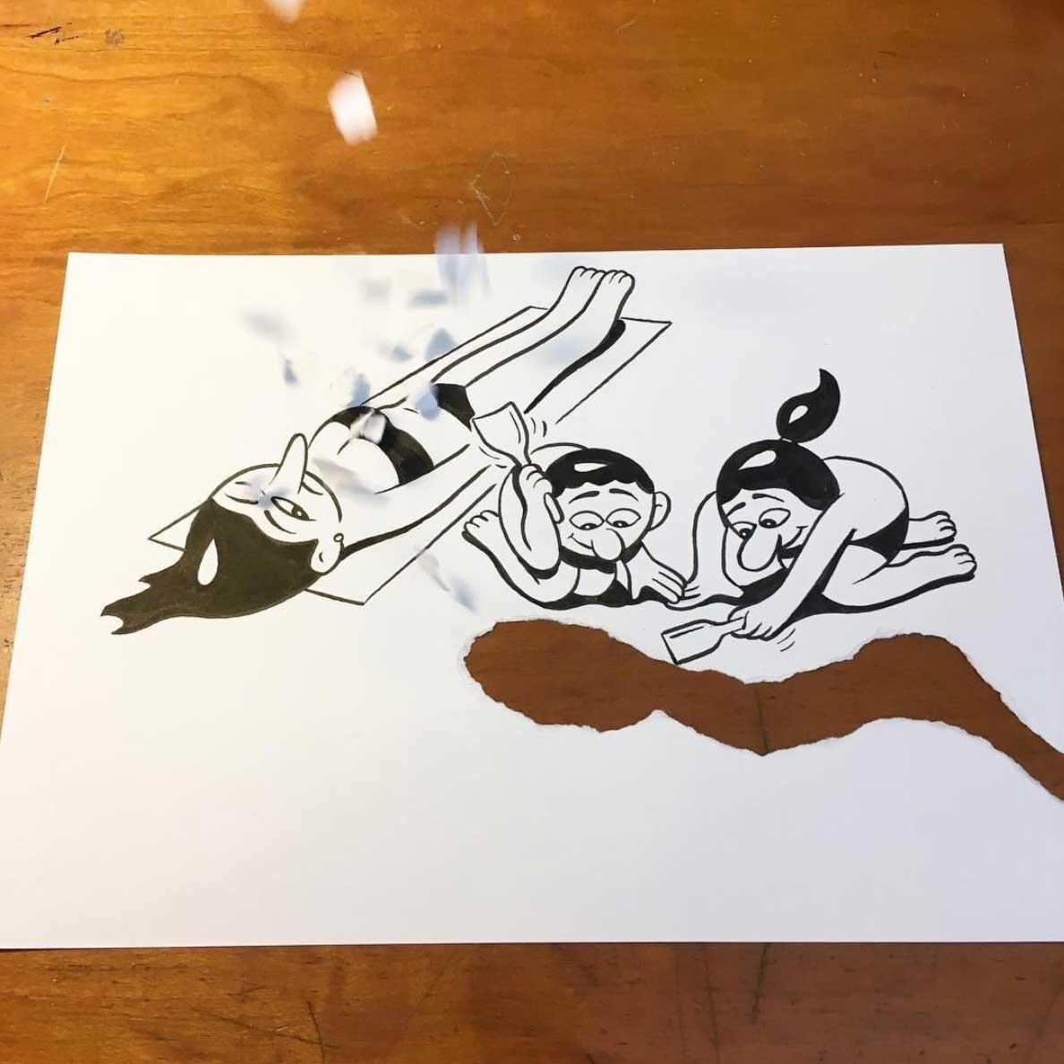 Neue Zeichnungen mit Kniff von HuskMitNavn HuskMitNavn_05