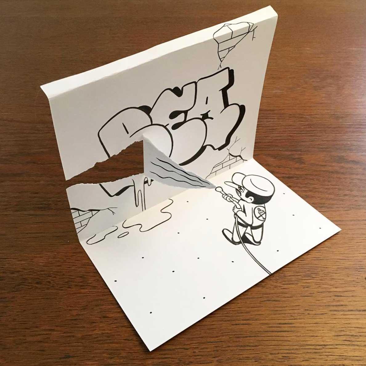 Neue Zeichnungen mit Kniff von HuskMitNavn