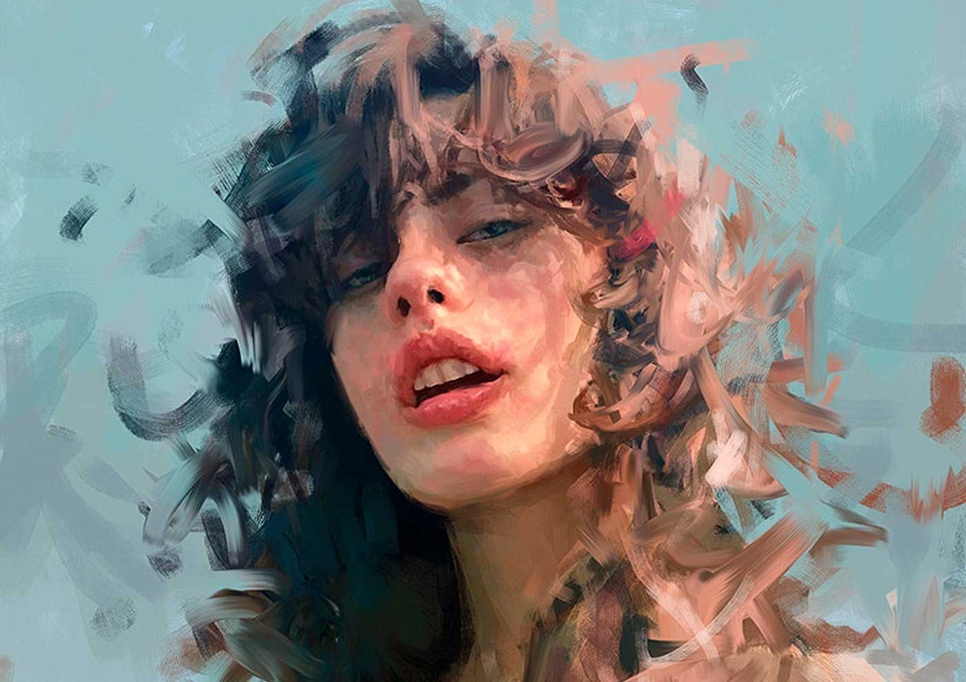 Neue Digital Paintings von Ivana Besevic