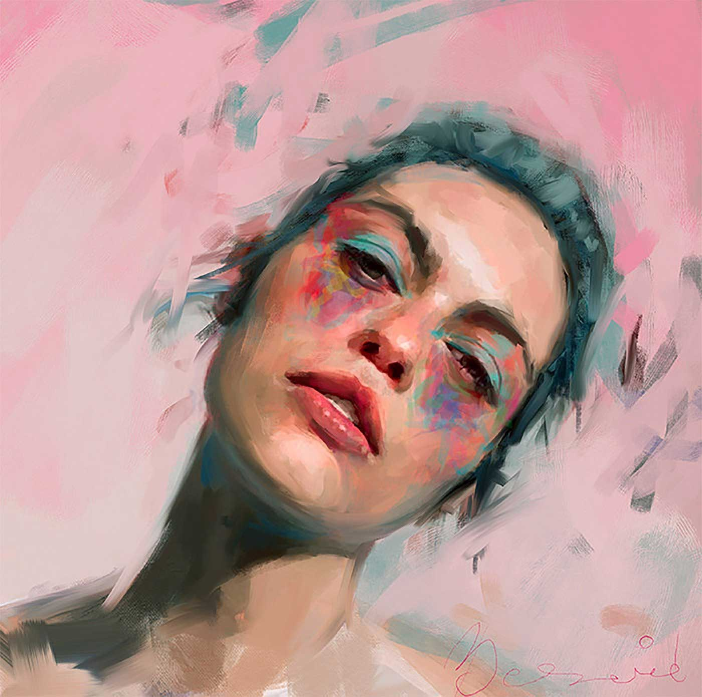 Neue Digital Paintings von Ivana Besevic Ivana-Besevic-digital-paintings-portraits-2018_11