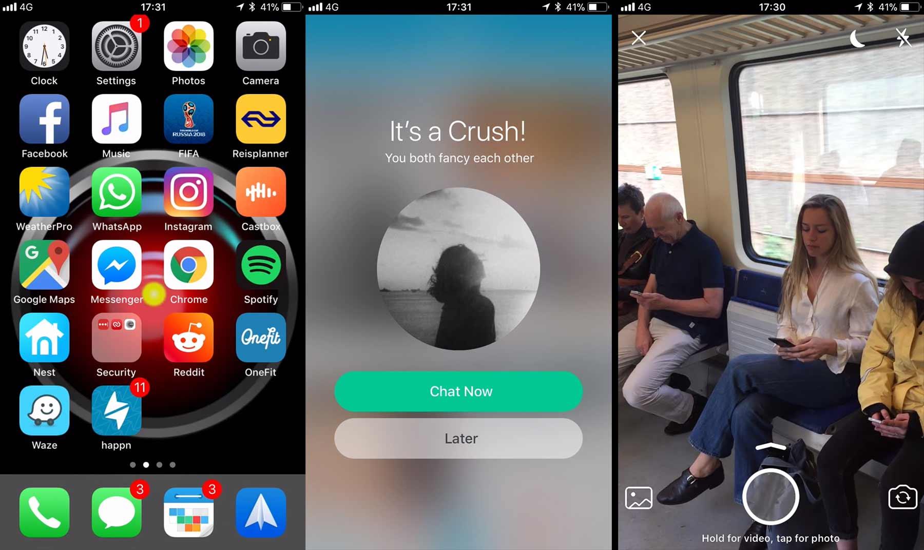 Smartphone-Kurzfilm übers Online-Dating auf Zugreise MarkyMark87-smartphone-film