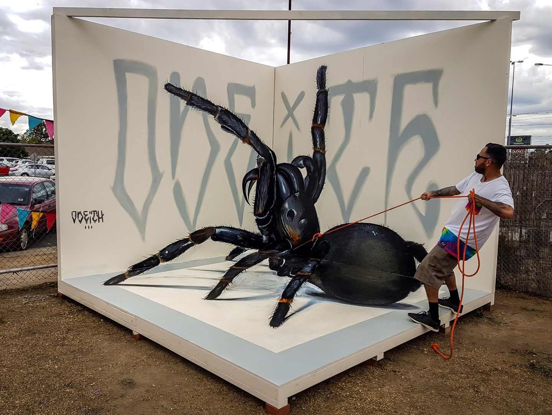 Anamorphe Riesen-Insekten von Odeith Odeith-anamorphe-insekten_02