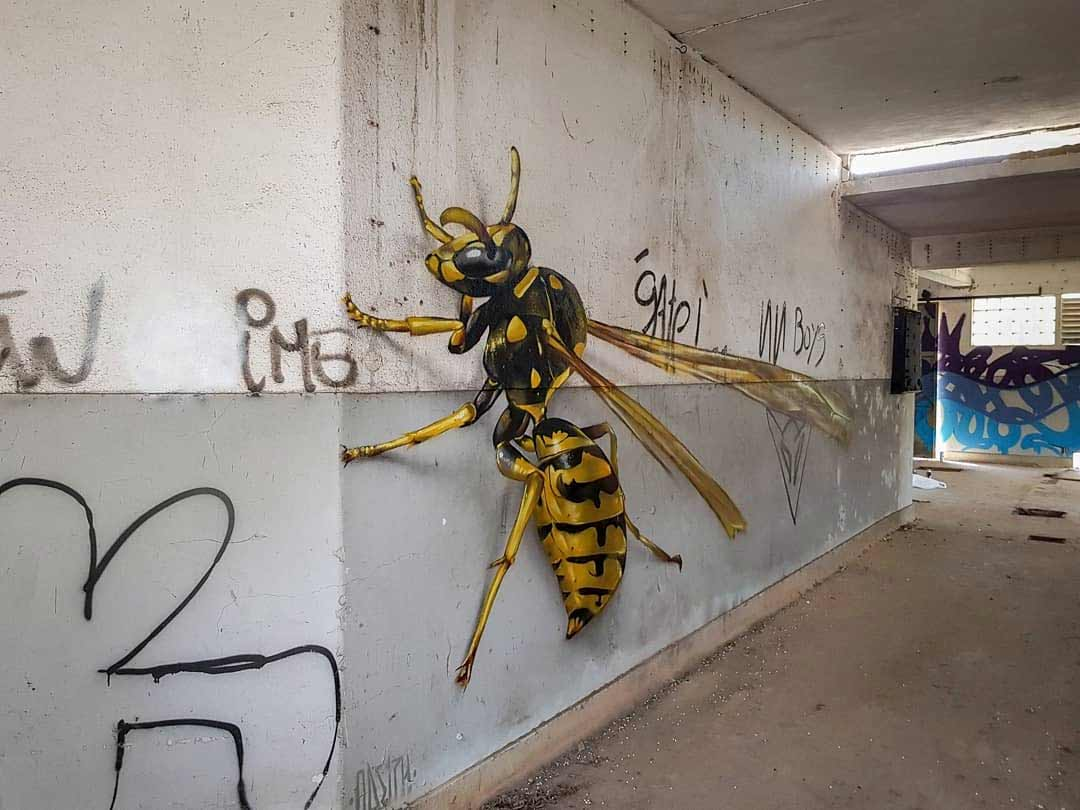 Anamorphe Riesen-Insekten von Odeith Odeith-anamorphe-insekten_05