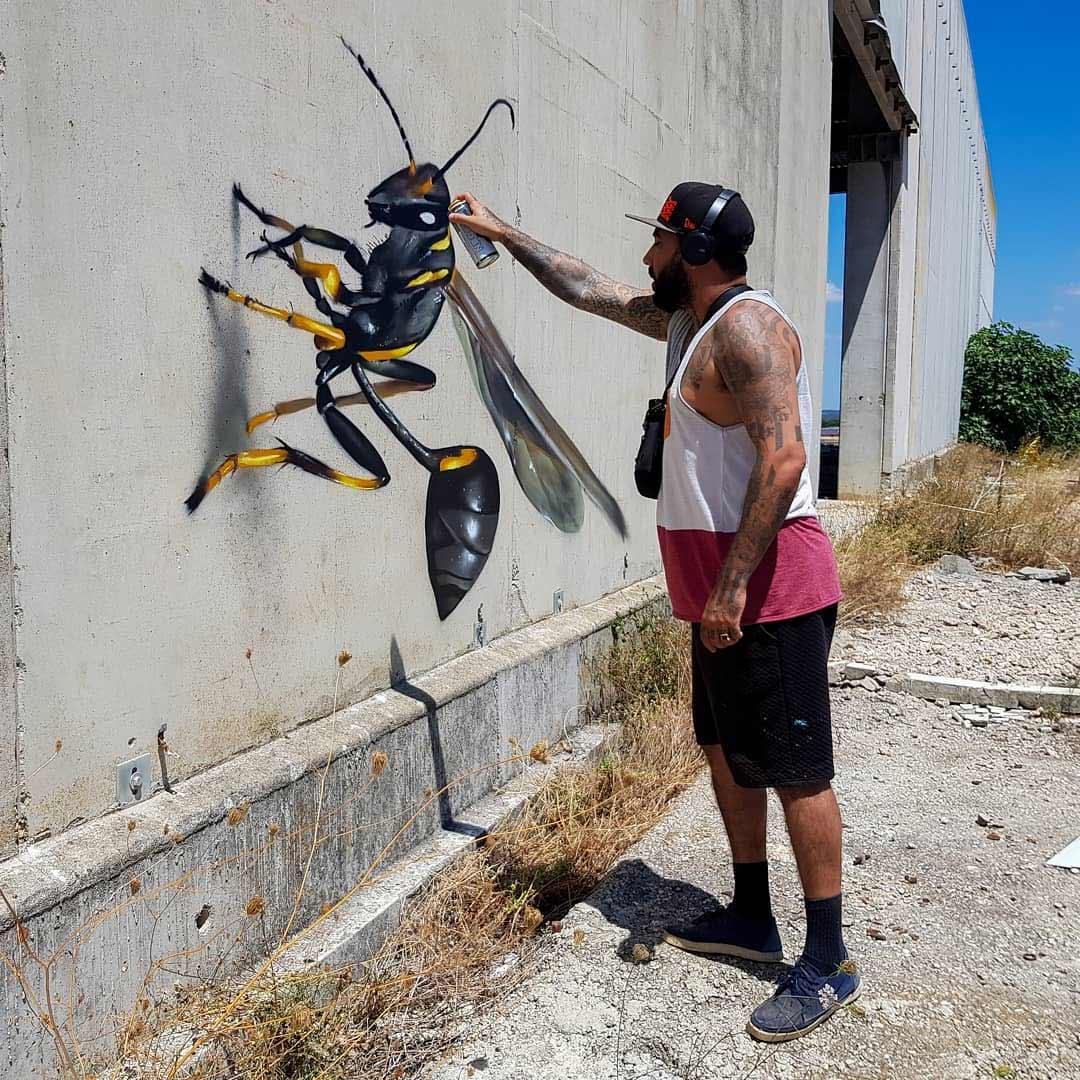 Anamorphe Riesen-Insekten von Odeith Odeith-anamorphe-insekten_10