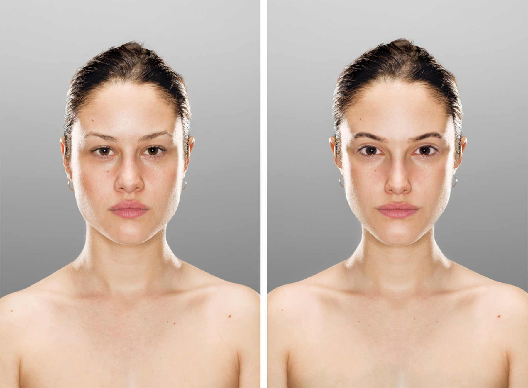 Echtes vs. selbst präferiertes Aussehen