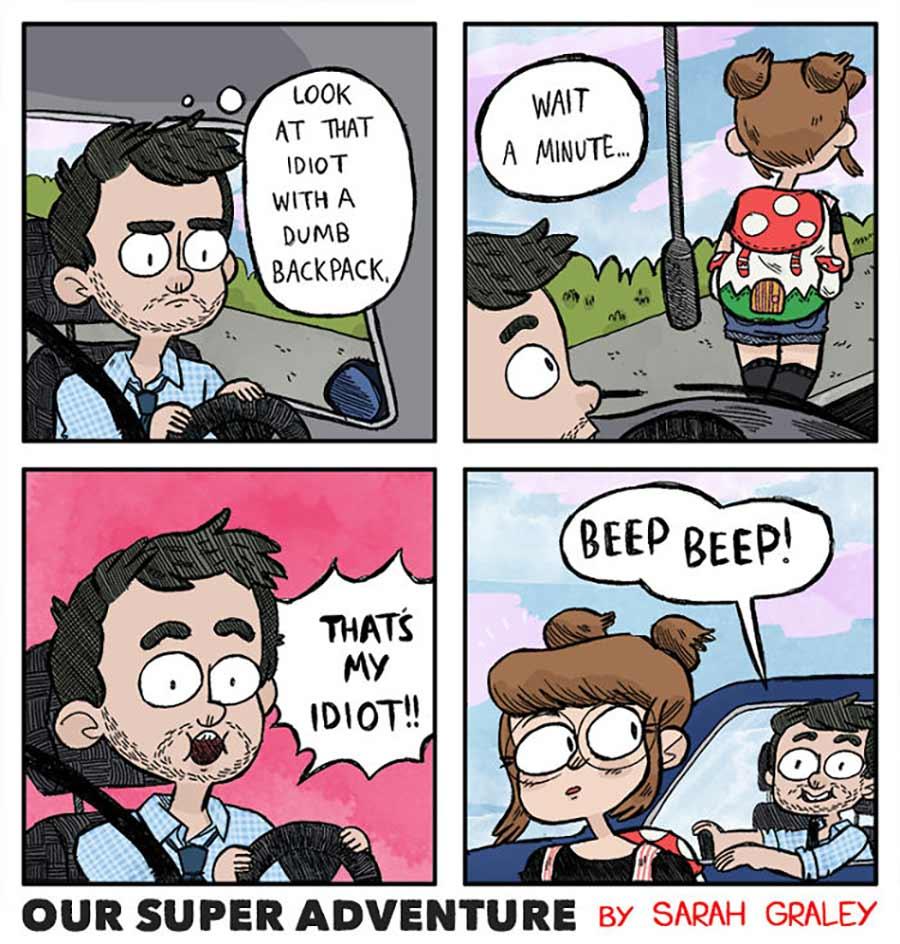 Webcomics über süße Alltagsmomente einer Beziehung Our-Super-Adventure_01