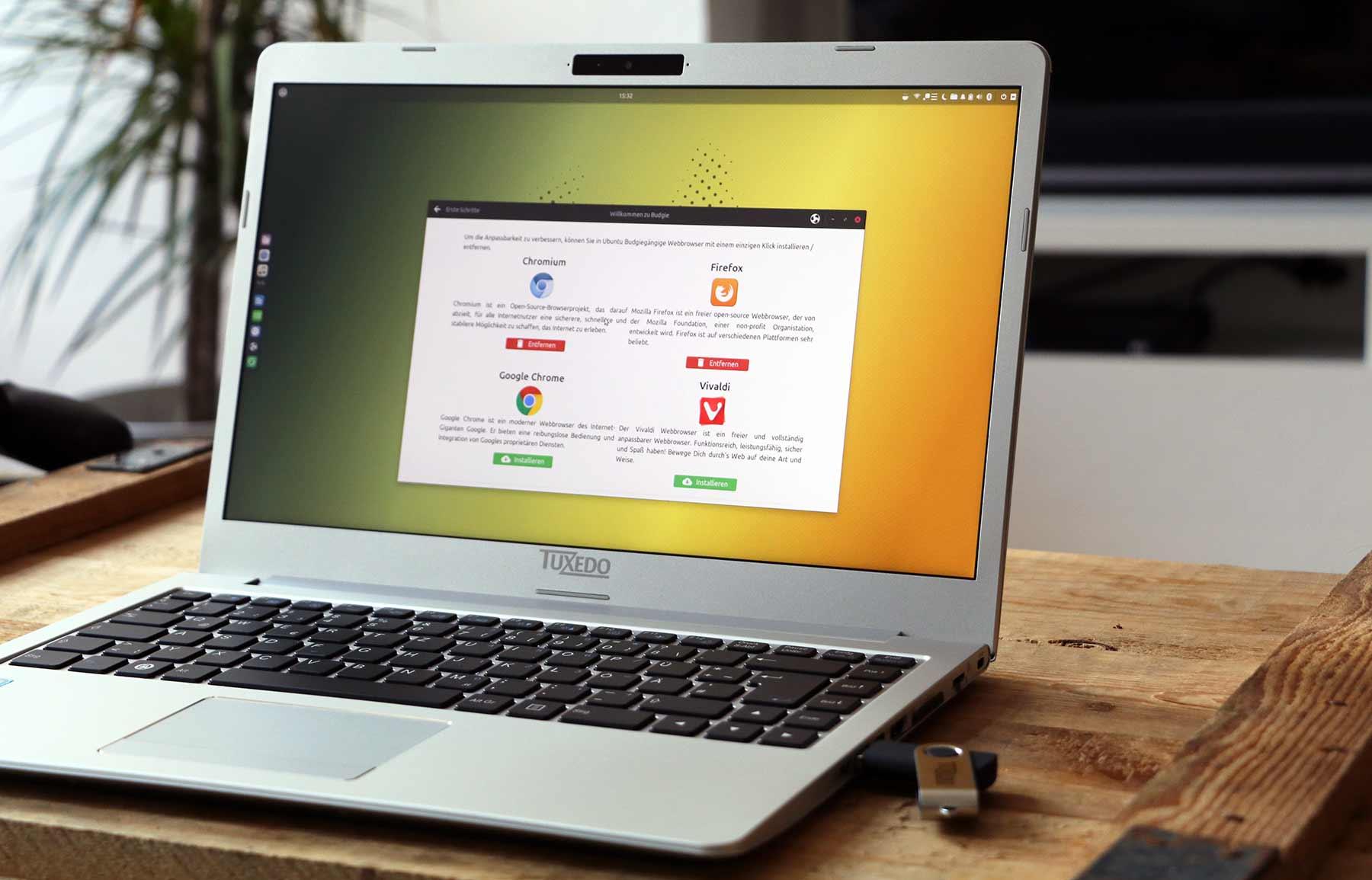 Mein erstes Mal mit Linux Tuxedo-Linux-Test_03