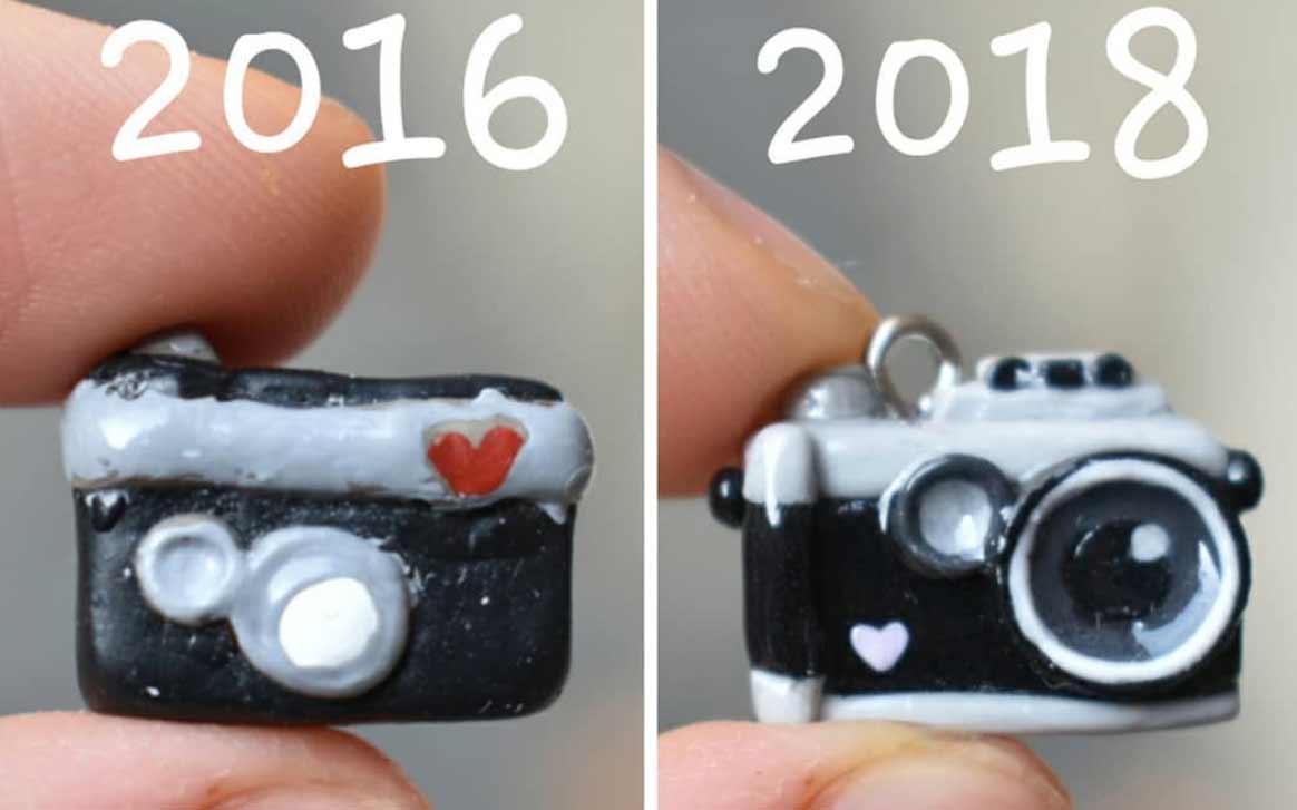 Die Evolution der Miniatur-Skulpturen von ZoZo ZoZO-strawberrypuffcake_01