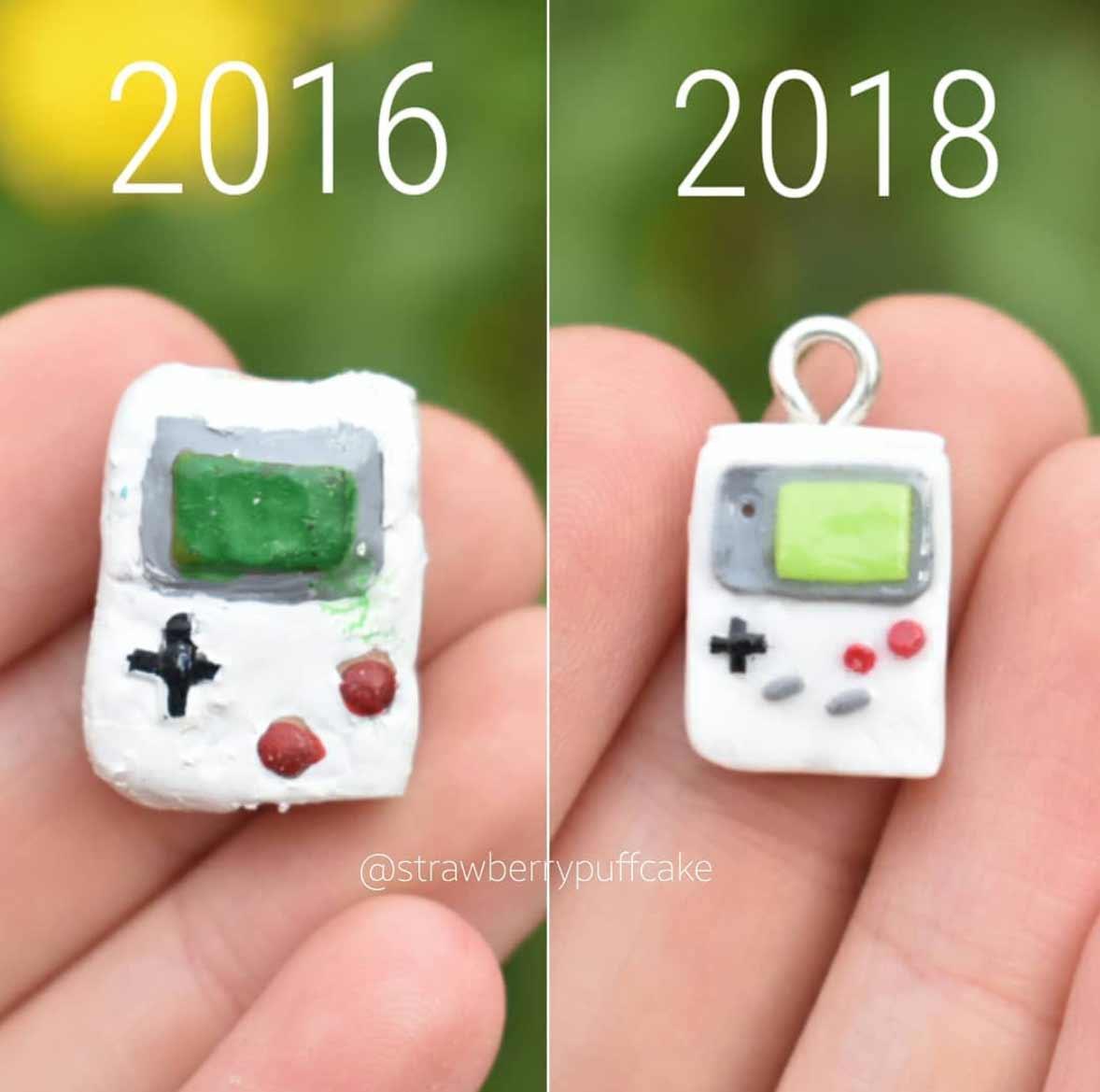Die Evolution der Miniatur-Skulpturen von ZoZo ZoZO-strawberrypuffcake_10