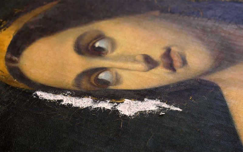 Wie Restaurateur Julian Baumgartner alte Gemälde reinigt