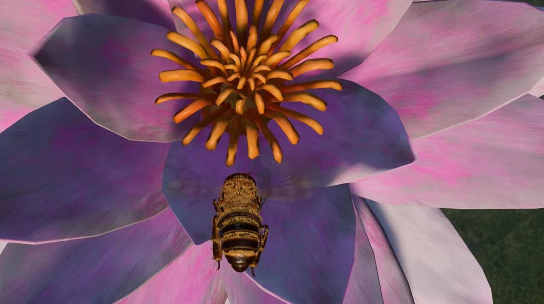 Einmal Biene spielen bee-simulator-game-trailer