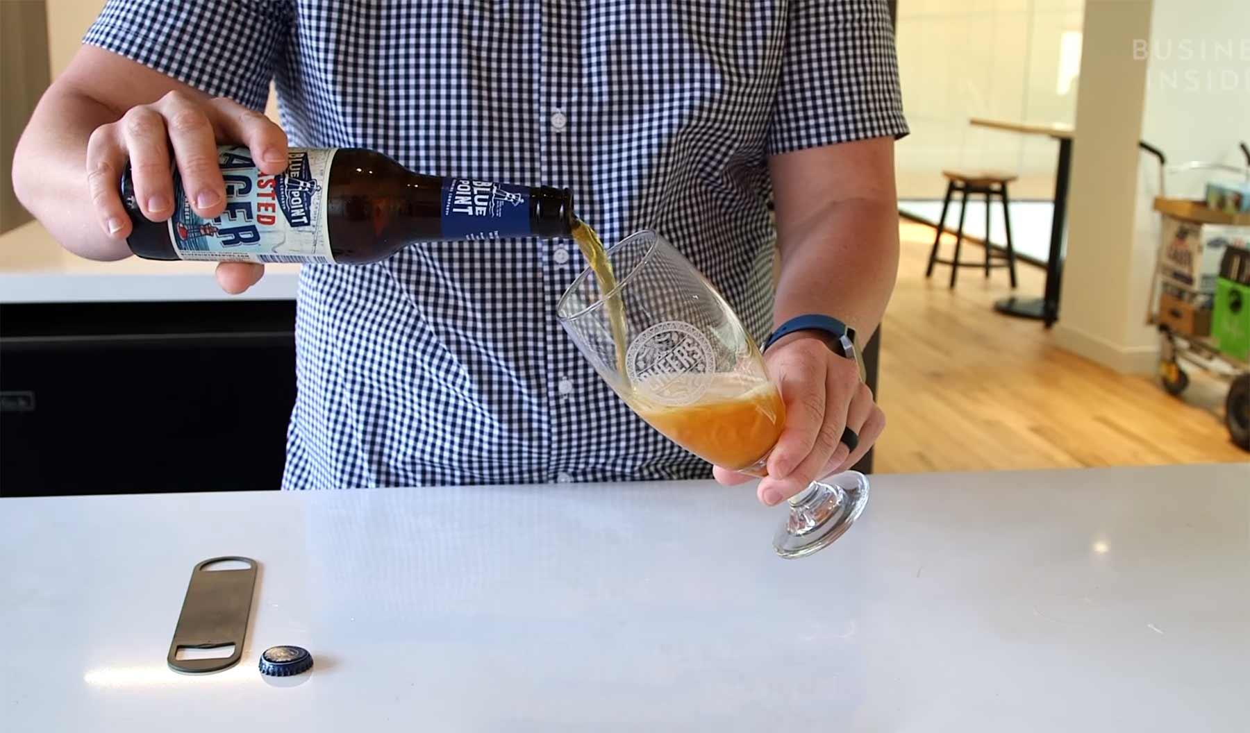 Wie(so) man Bier einschenken sollte
