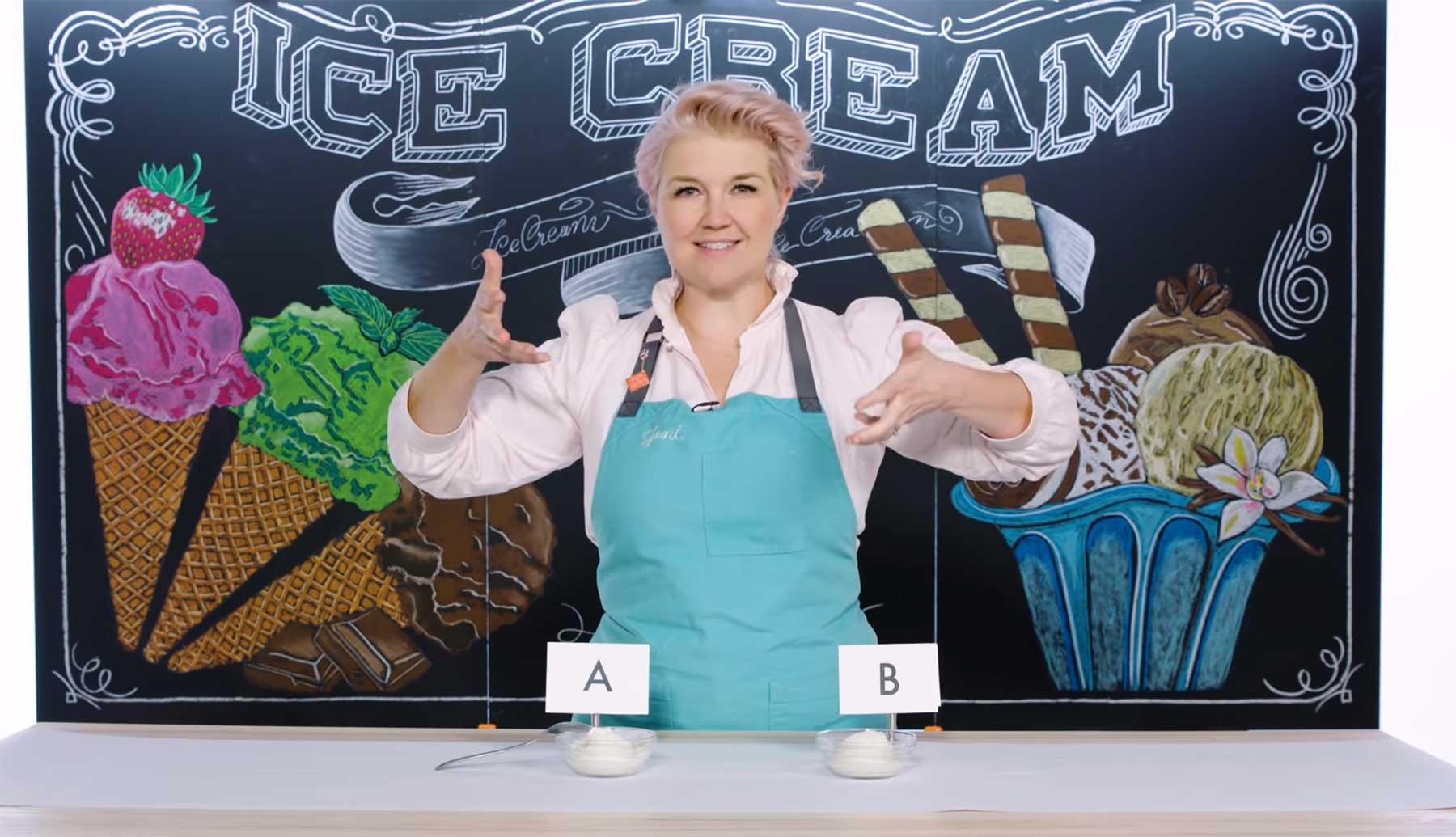 Expertin erklärt, woran man gute Eiscreme erkennt