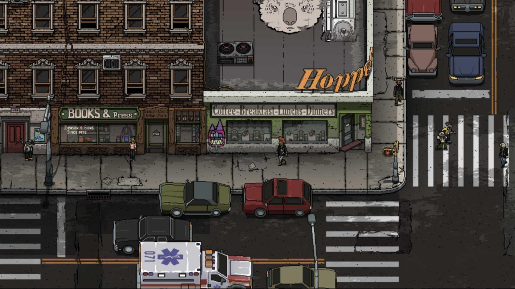 """GTA mit Pixel-Tieren: """"Damnview"""""""