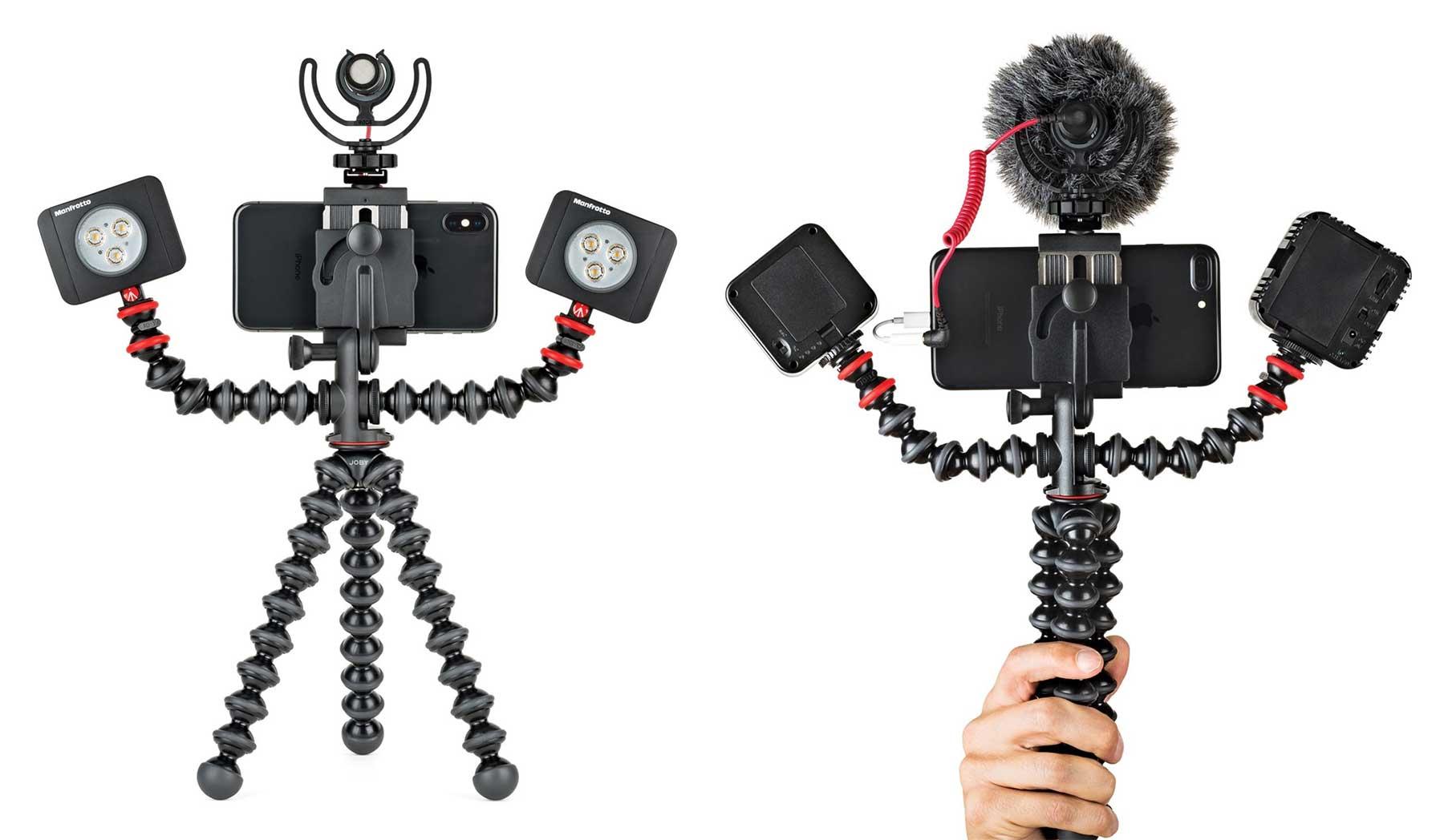 Gewappnet fürs Unterwegs-Filmen mit JOBYs GorillaPod Mobile Rig JOBY-Gorilla-Pod_02