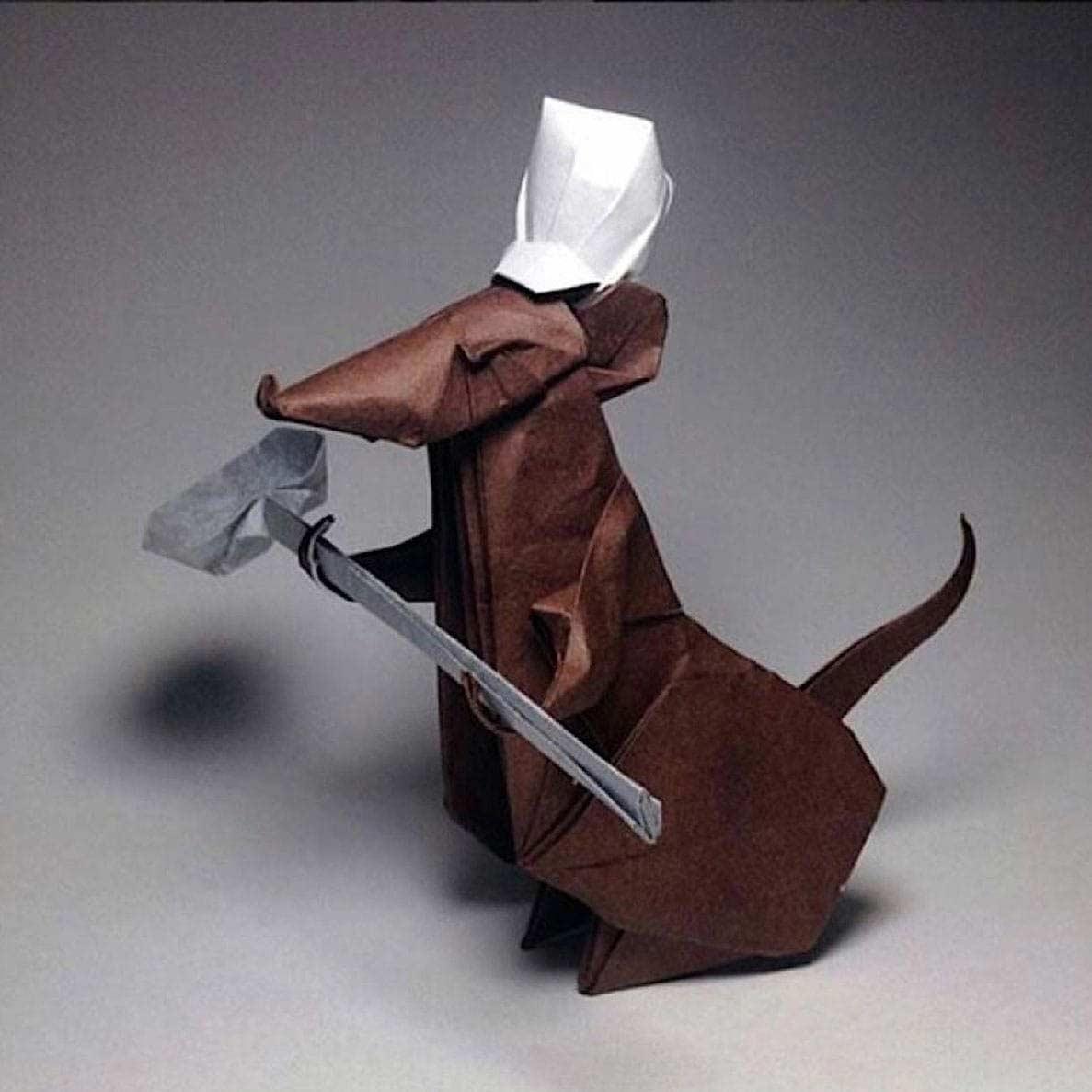 Geniale Origami-Kunstwerke von Robby Kraft