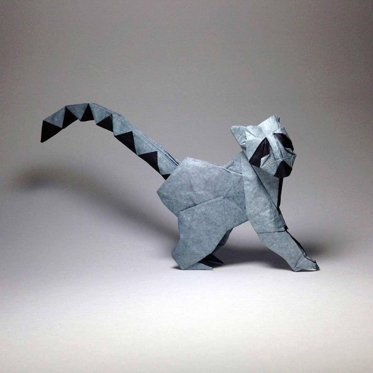 Geniale Origami-Kunstwerke von Robby Kraft Robby-Kraft-Origami_04