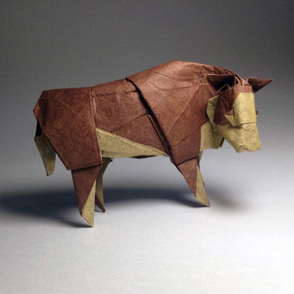 Geniale Origami-Kunstwerke von Robby Kraft Robby-Kraft-Origami_05