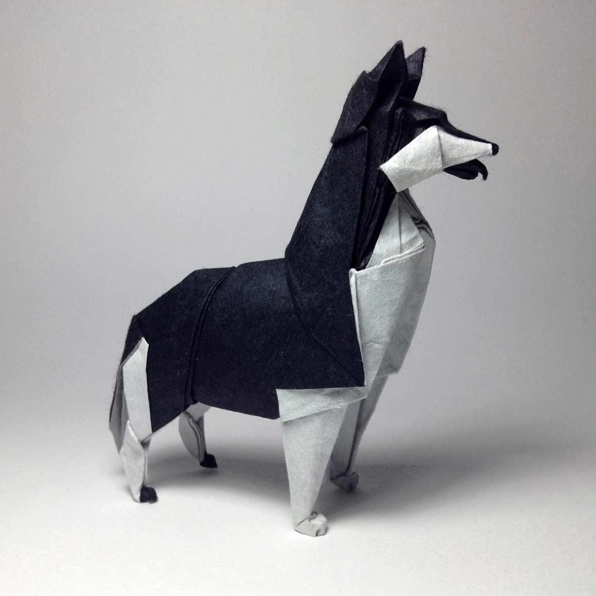 Geniale Origami-Kunstwerke von Robby Kraft Robby-Kraft-Origami_07