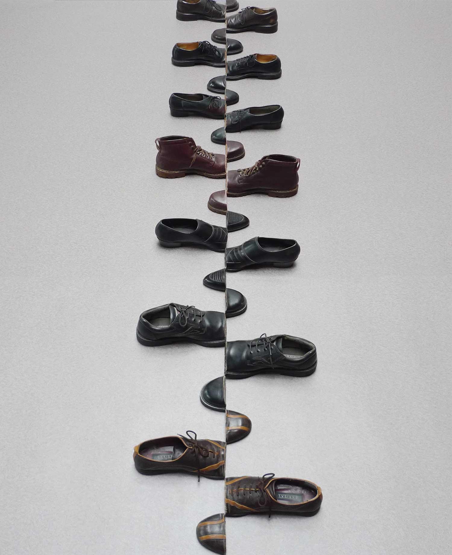 Schuhe mit kunstvollem Schnitt Sakir-Gokcebag-shoes_02