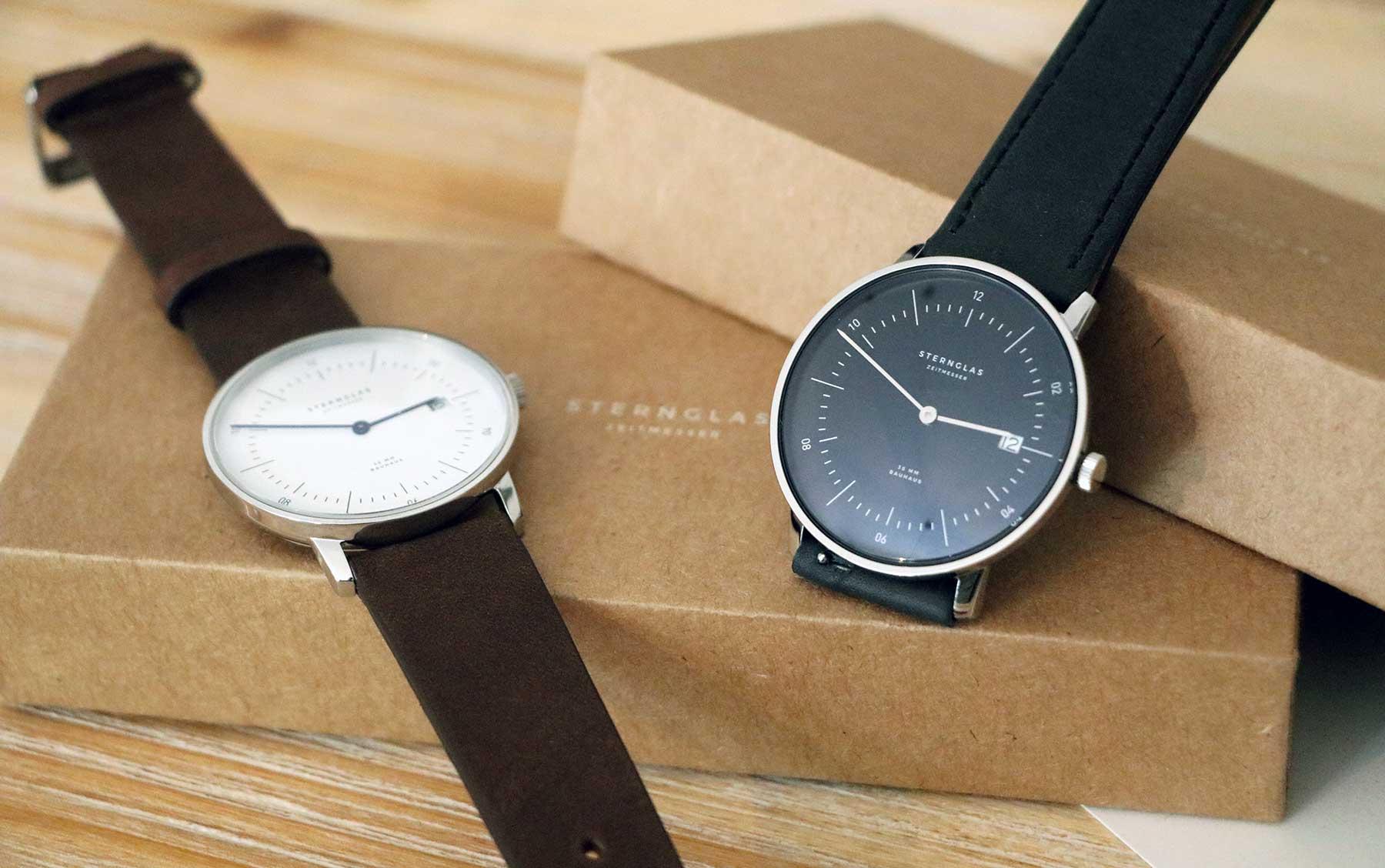 Die neuen Bauhaus-Uhren von STERNGLAS im Test: NAOS