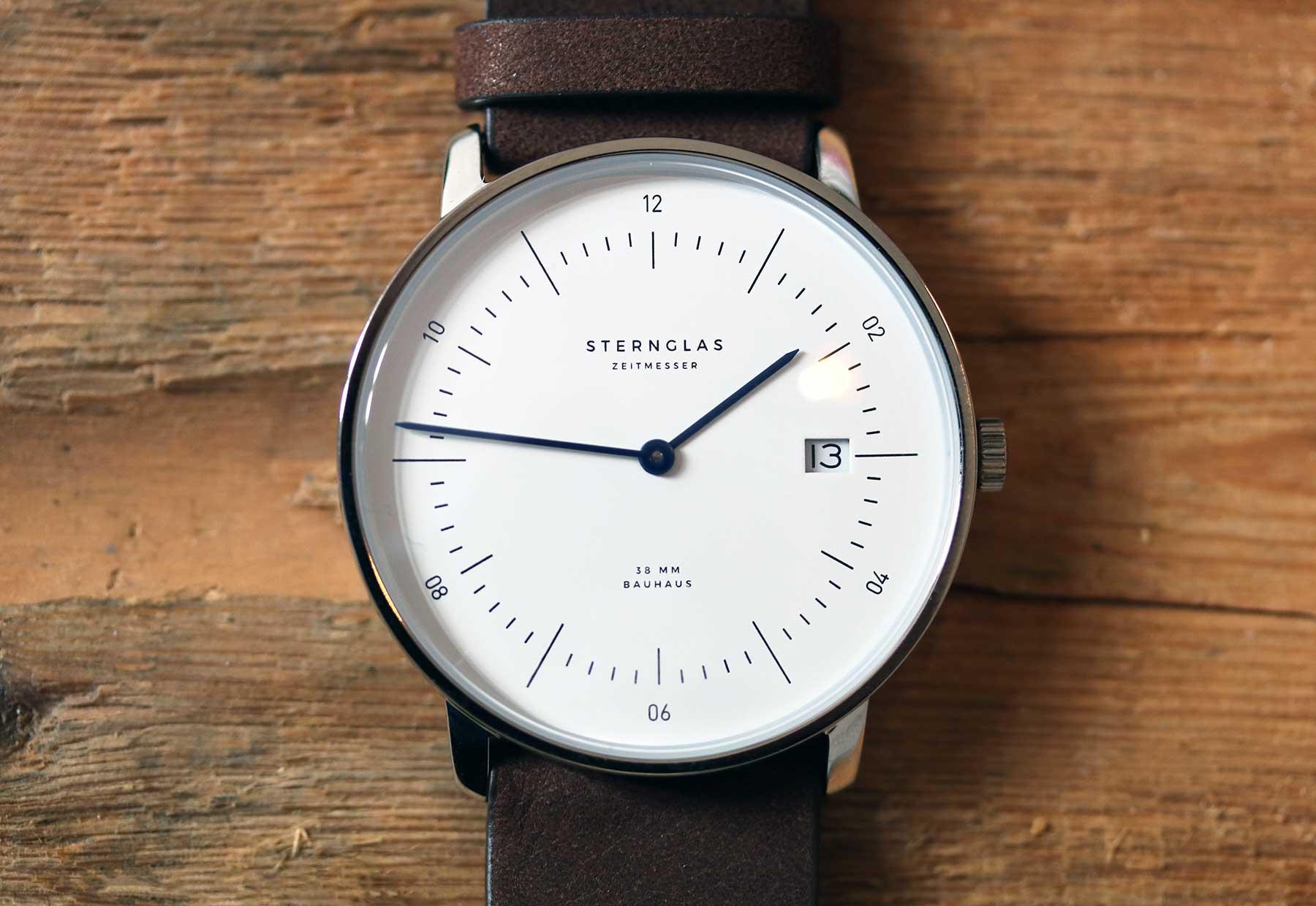 Die neuen Bauhaus-Uhren von STERNGLAS im Test: NAOS Sternglas-NAOS-Uhr-Test_03