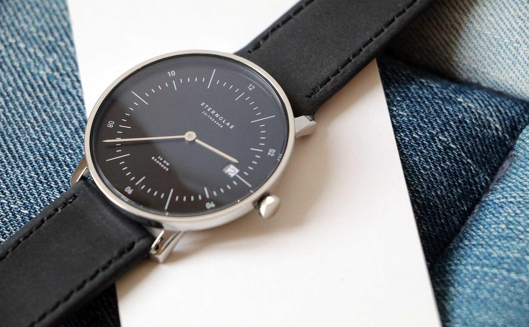 Die neuen Bauhaus-Uhren von STERNGLAS im Test: NAOS Sternglas-NAOS-Uhr-Test_04