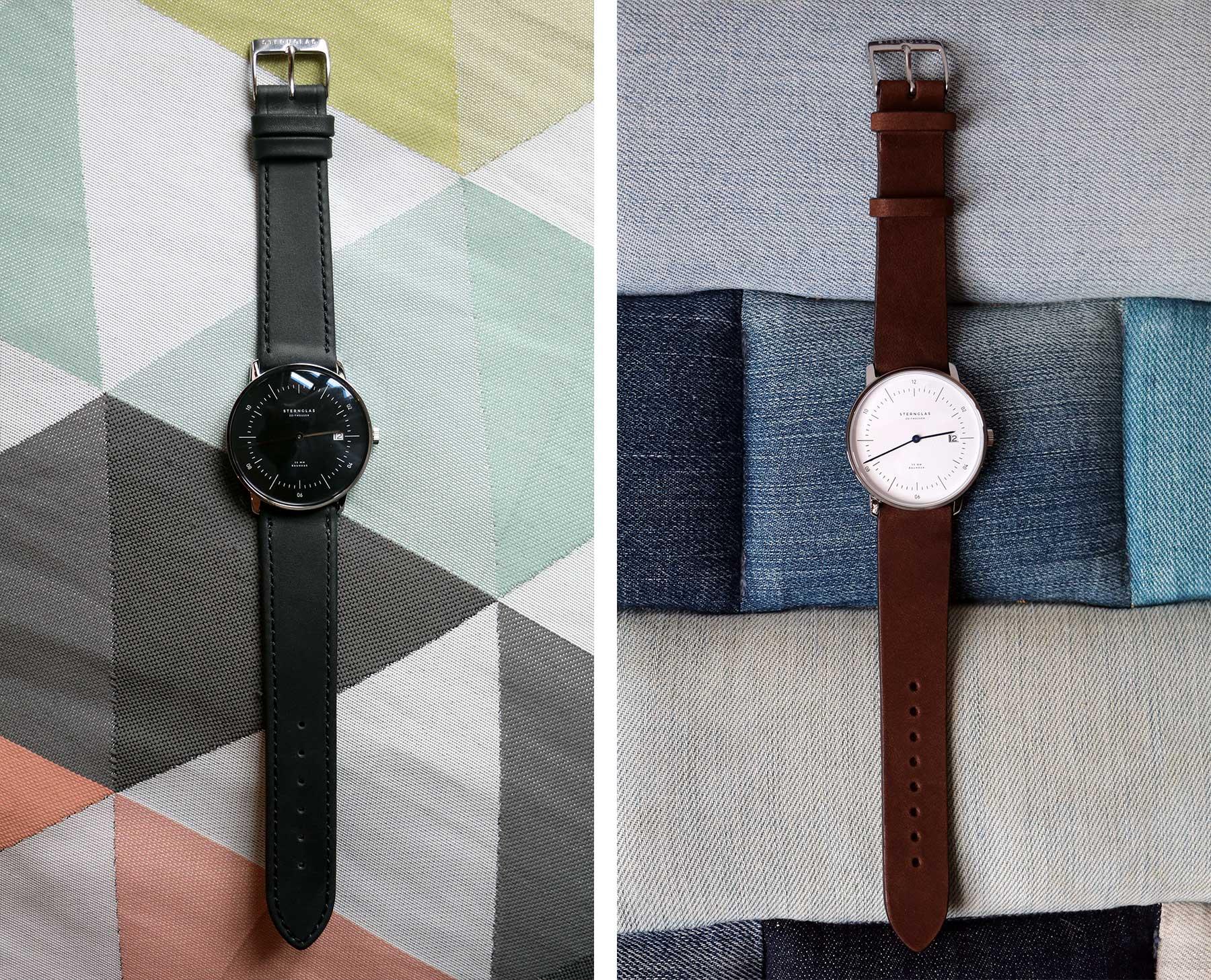 Die neuen Bauhaus-Uhren von STERNGLAS im Test: NAOS Sternglas-NAOS-Uhr-Test_05
