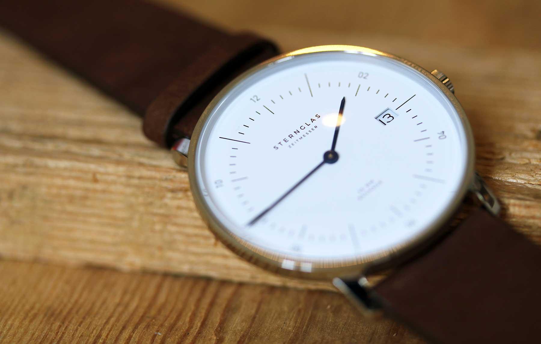 Die neuen Bauhaus-Uhren von STERNGLAS im Test: NAOS Sternglas-NAOS-Uhr-Test_12