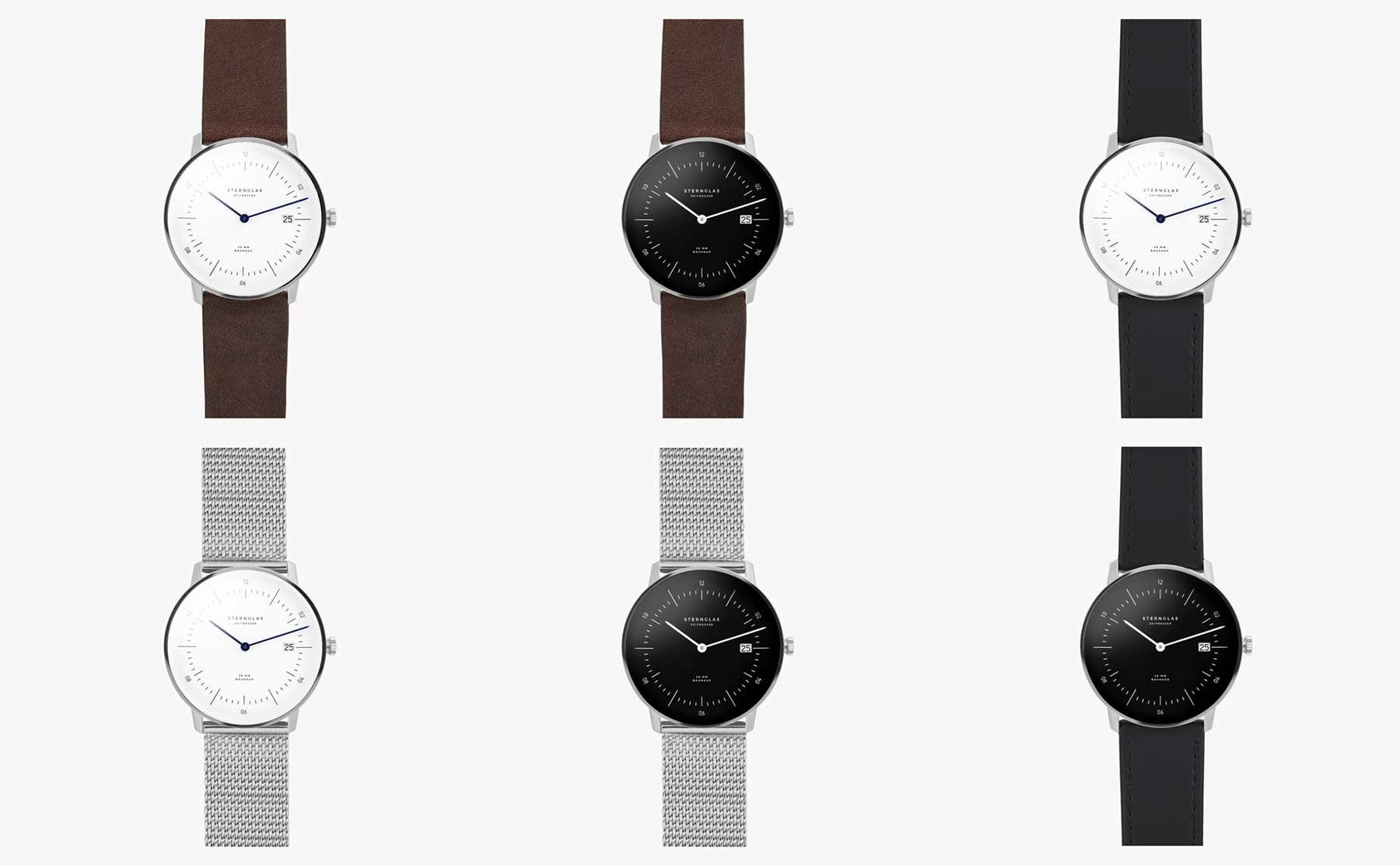 Die neuen Bauhaus-Uhren von STERNGLAS im Test: NAOS Sternglas-NAOS-Uhr_00