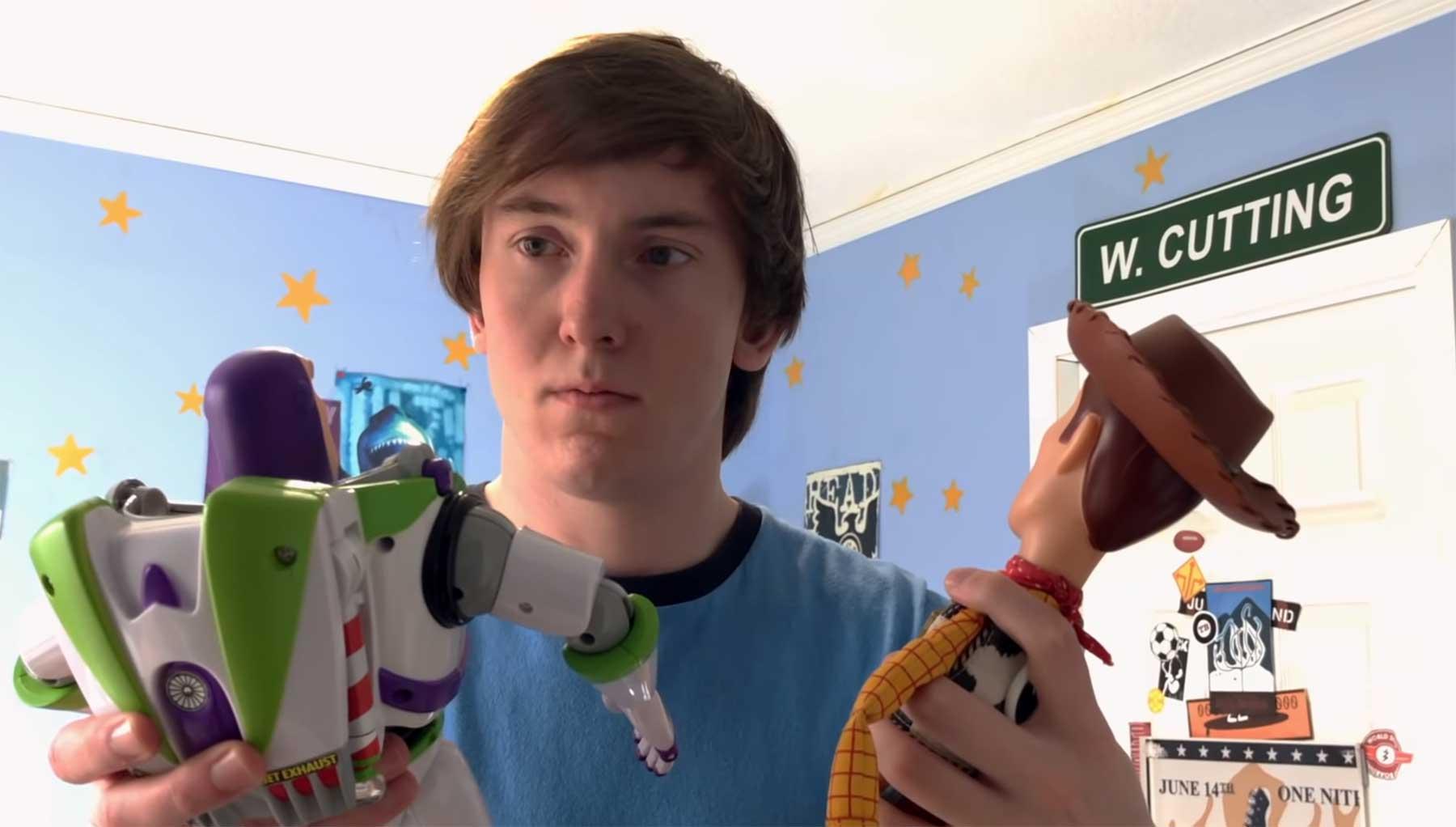"""Zwei Brüder spielen den kompletten Film """"Toy Story 3"""" nach"""