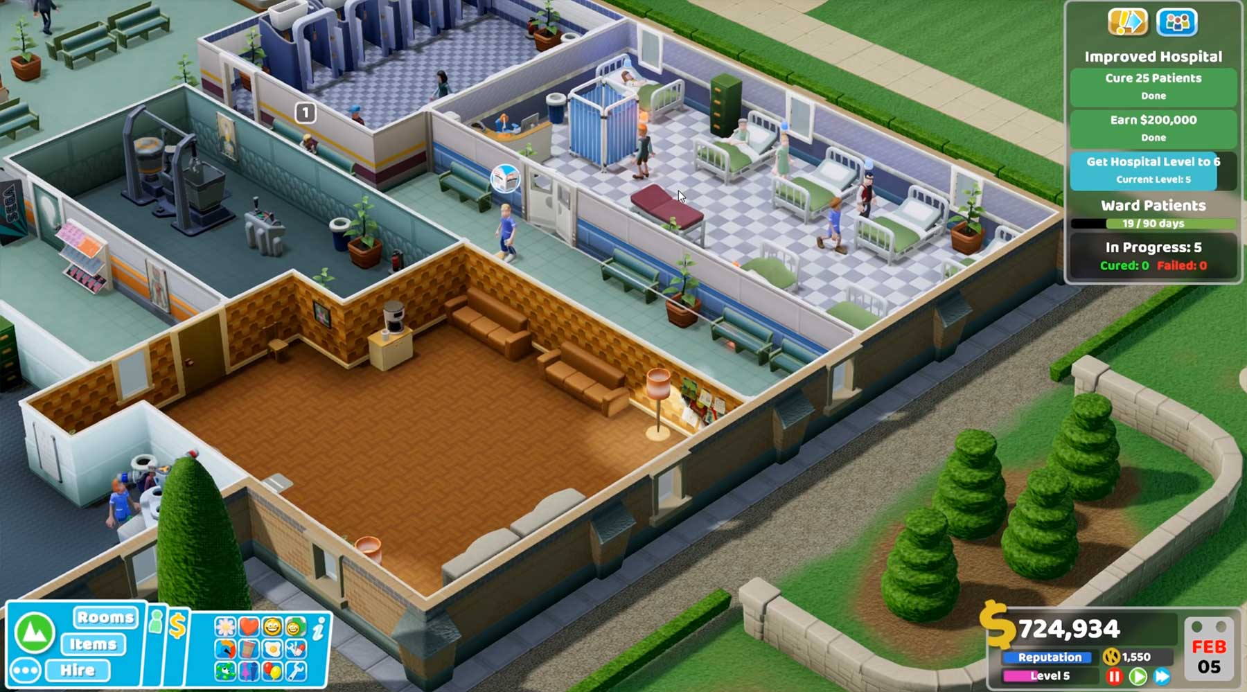 "Der Nachfolger von ""Theme Hospital"" heißt ""Two Point Hospital"" Two-Point-Hospital"