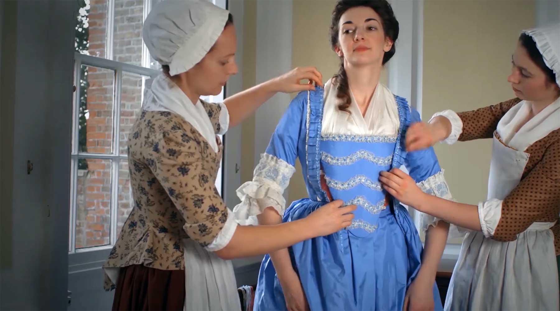 So kompliziert war das Anziehen im 18. Jahrhundert anziehen-im-18ten-jahrhundert