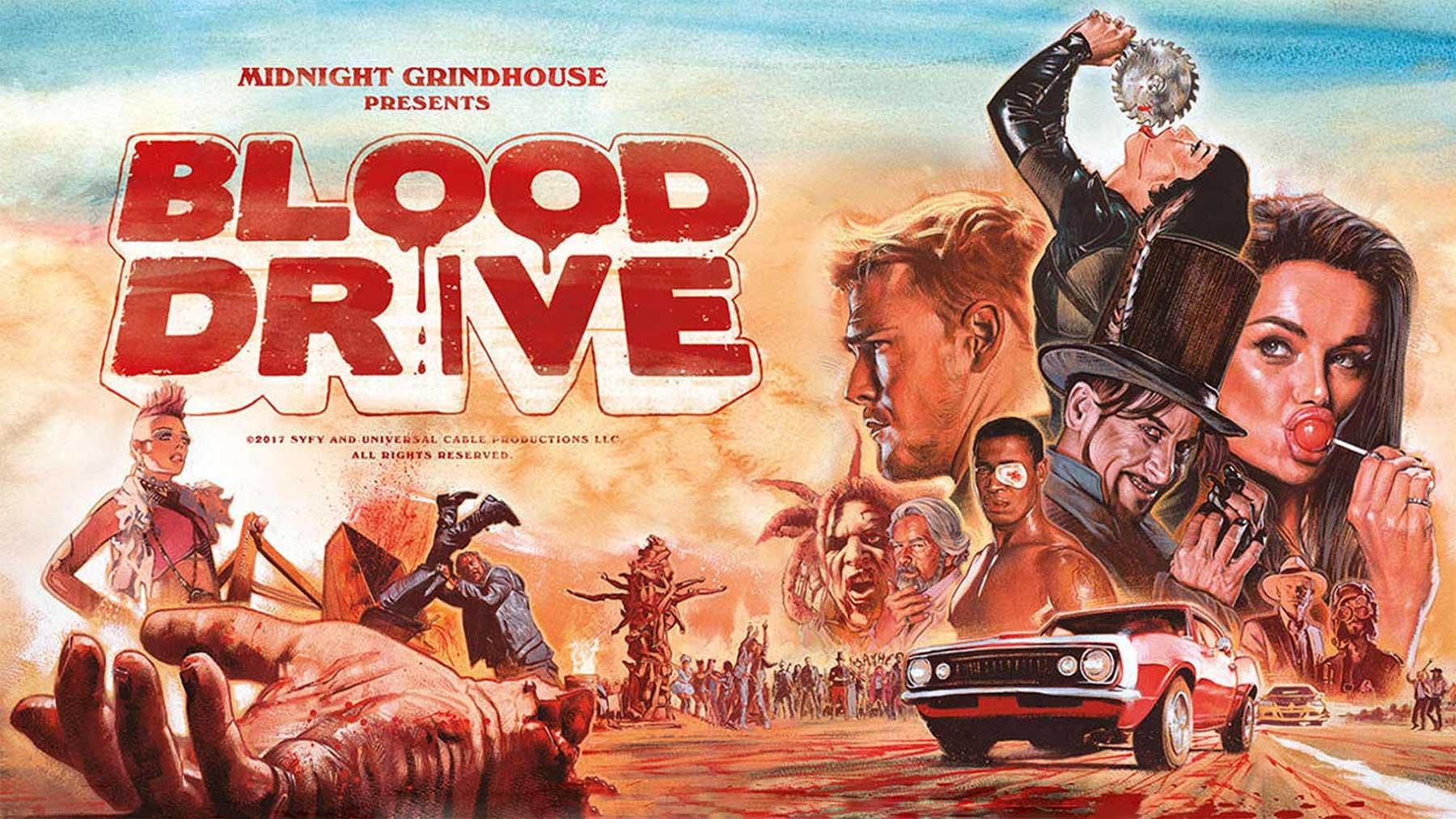 Meine aktuellen Serien-Empfehlungen blood-drive
