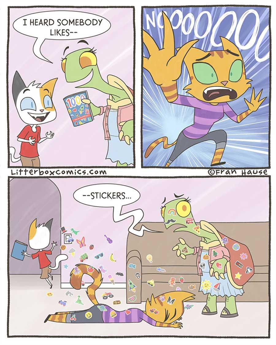 Lustige Webcomics über das Familienleben: Litterbox Comics litterbox-comics_06