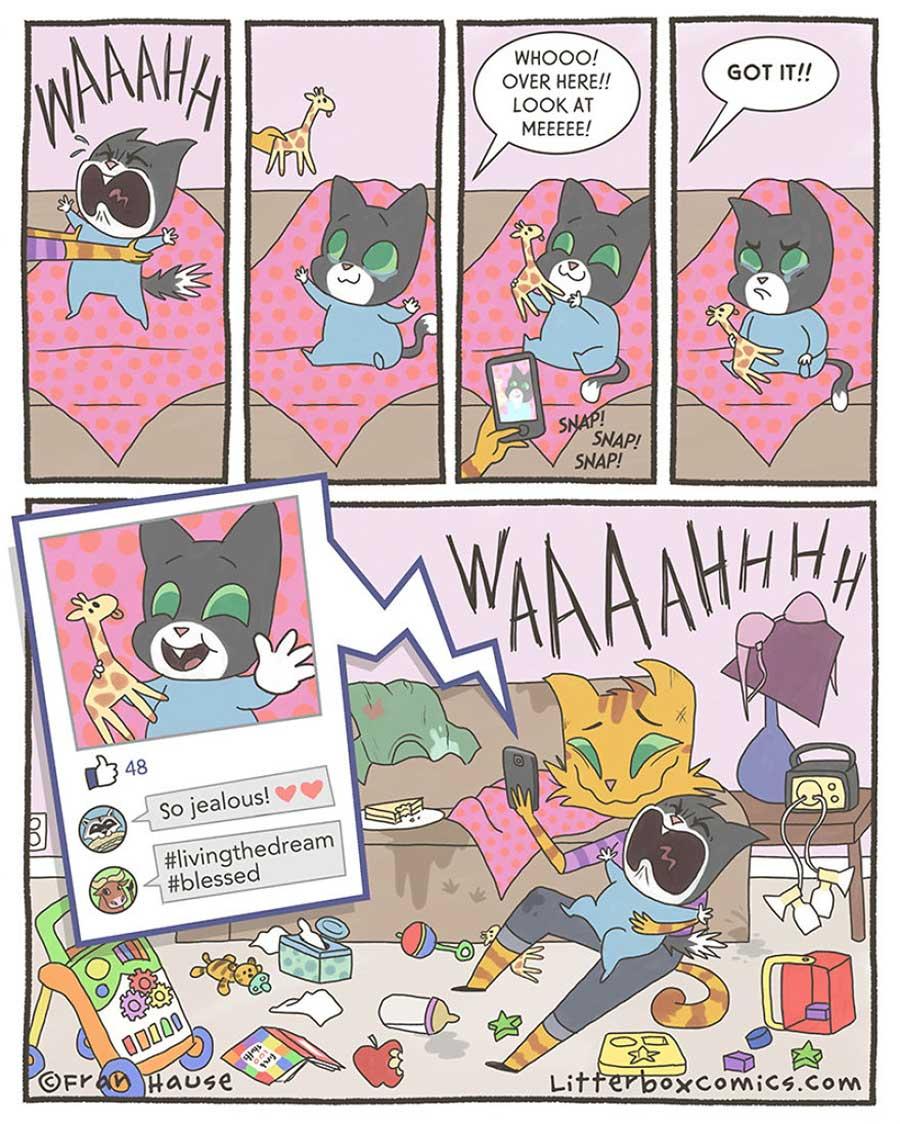 Lustige Webcomics über das Familienleben: Litterbox Comics litterbox-comics_07