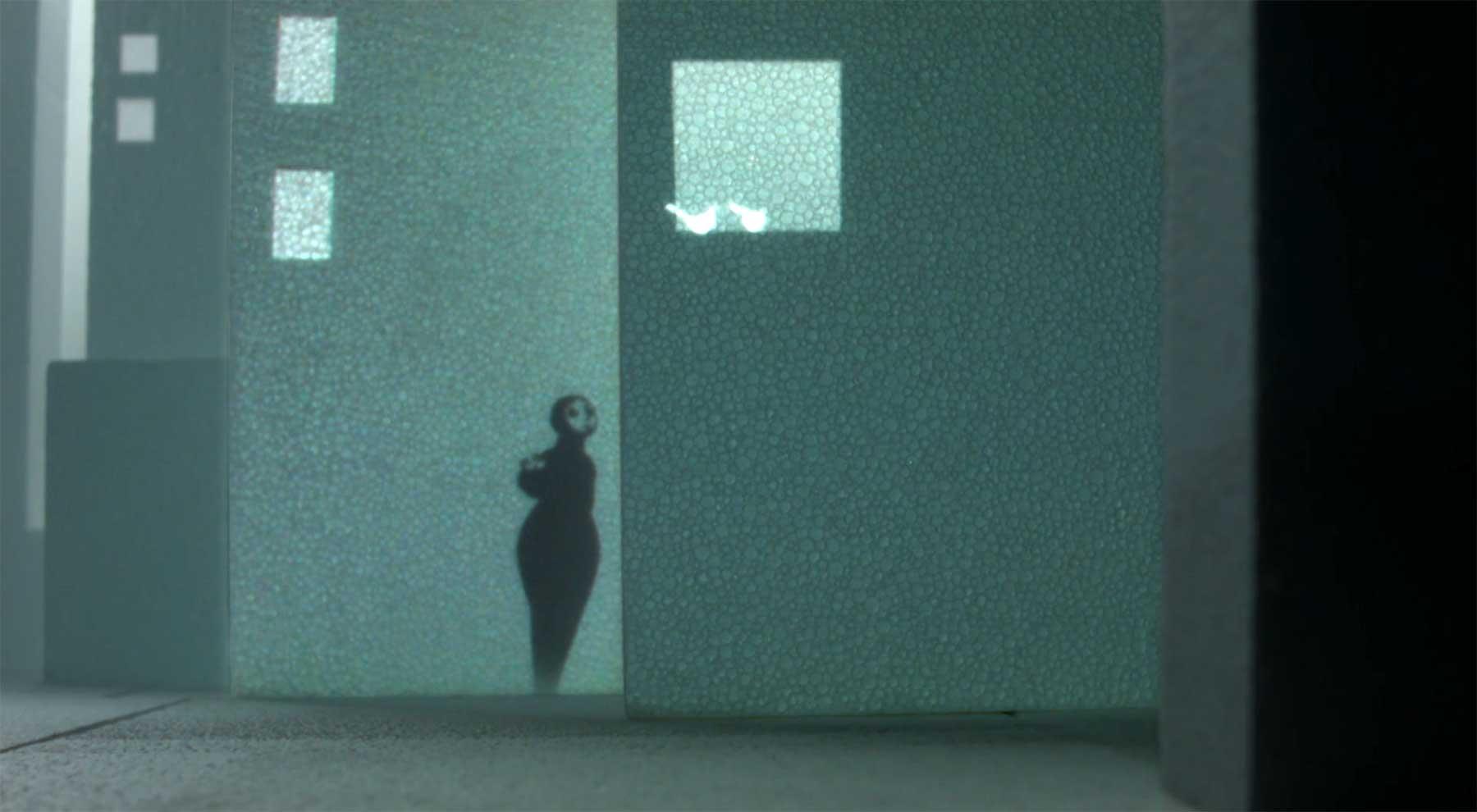 Projektionskurzfilm mit Schattenpuppen: Mamoon